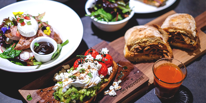 Food Spread from The Providore (Downtown) at Downtown Gallery in Tanjong Pagar, Singapore