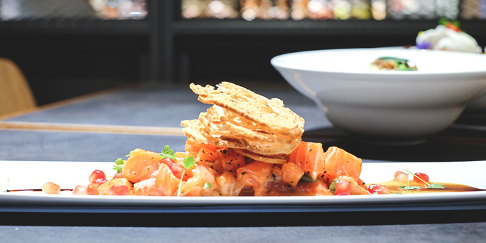 Salmon Tartare from The Providore (Downtown) at Downtown Gallery in Tanjong Pagar, Singapore