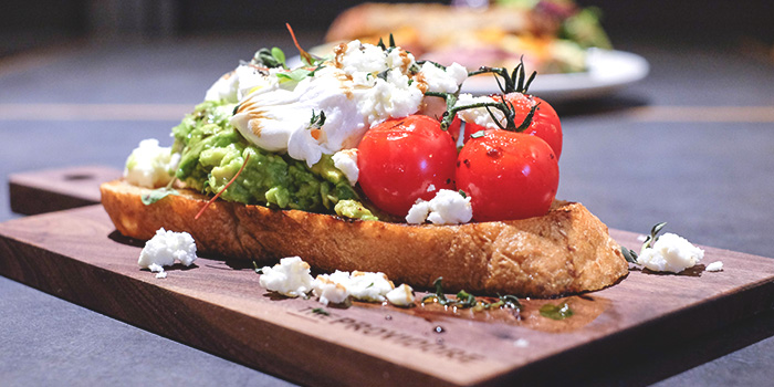 Smashed Avocado on Toast from The Providore (Downtown) at Downtown Gallery in Tanjong Pagar, Singapore