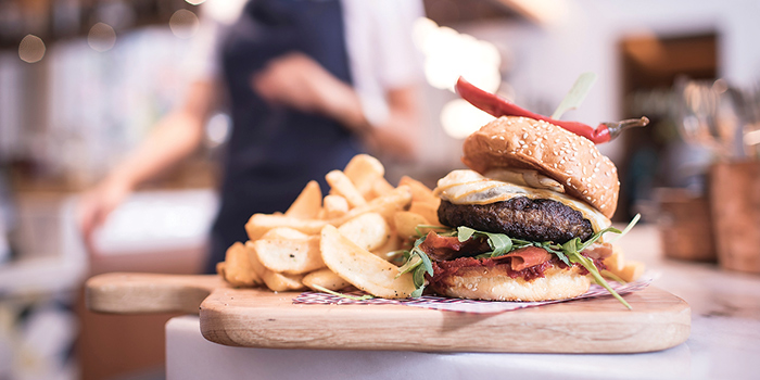 Publico Burger from Marcello at InterContinental Singapore Robertson Quay in Robertson Quay, Singapore