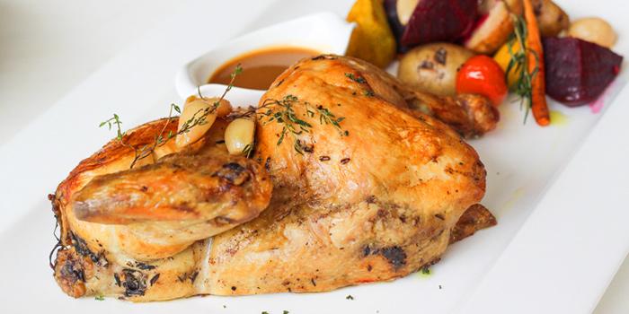 Roasted Chicken from Latest Recipe at Le Méridien Suvarnabhumi, Bangna, Bangkok