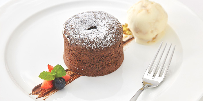 Chocolate Fondant from Royale at Mercure Singapore Bugis in Bugis, Singapore