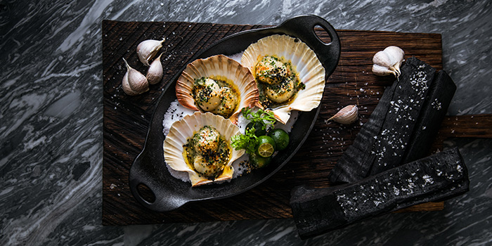 Scallops (Smoke & Pepper) from Alley on 25 in Andaz Singapore in Bugis, Singapore
