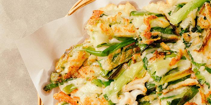 Seafood Springinion Pancake, SSAL BORI SSAL, Tsim Sha Tsui, Hong Kong
