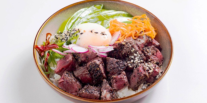 Truffled Wagyu Beef Rice Bowl from The Quarters in Tanjong Pagar, Singapore