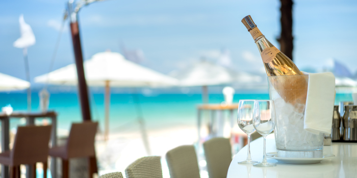 Enjoy the day of Catch Beach Club in Bangtao Beach, Cherngtalay, Phuket, Thailand.