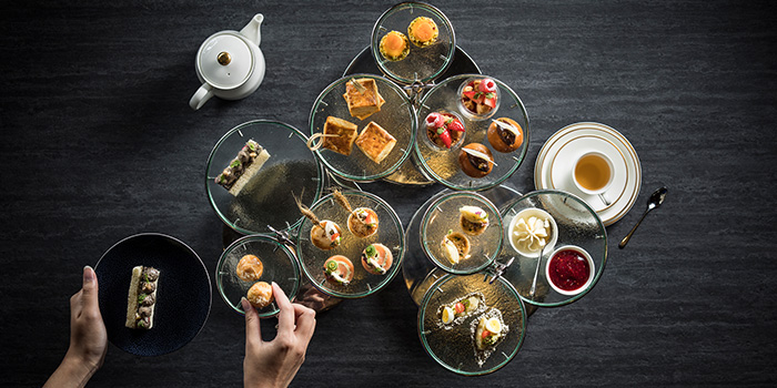 La Gouter Food Spread from 1864 at Sofitel Singapore City Centre in Tanjong Pagar, Singapore