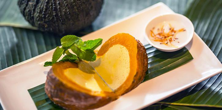 Pumkin Pudding, Cafe Siam, Kennedy Town, Hong Kong