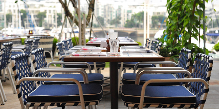 Al Fresco Dining Area of Bayswater Kitchen at Marina at Keppel Bay, Singapore