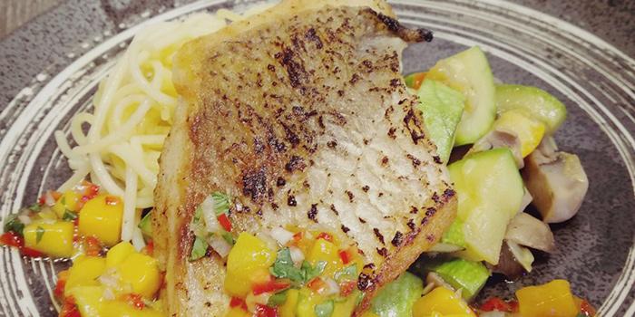 Baked Atlantic Black Cod with White Miso and herbs roasted potatoes, JC Room, Mong Kok, Hong Kong