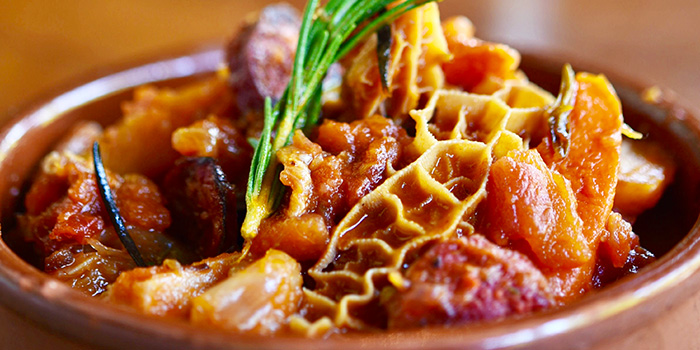 Beef Tripe with Chorizo from Don Quijote in Dempsey, Singapore