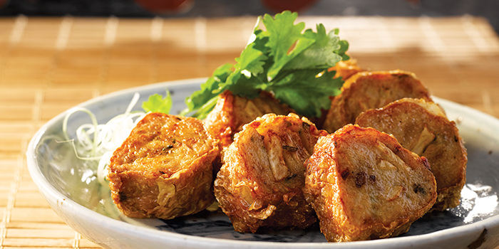 Deep Fried Ngoh Hiang Rolls from Chui Huay Lim Teochew Cuisine in Newton, Singapore