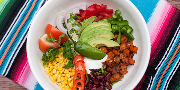 Chipotle Sweet Potato Bowl from Comida Mexicana in East Coast, Singapore