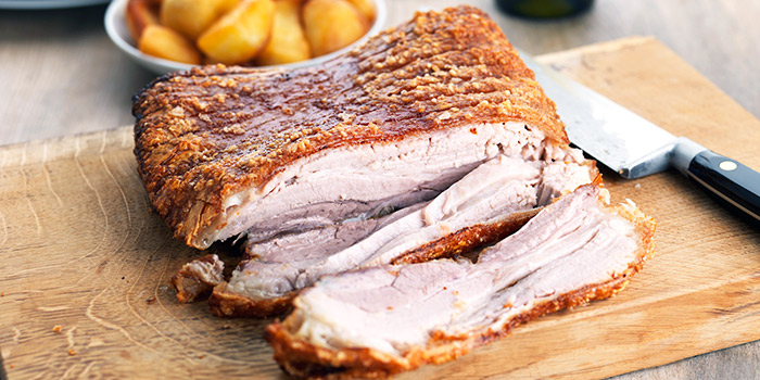 Slow Roast Pork Belly from Cali, Park Avenue Changi Hotel in Changi, Singapore
