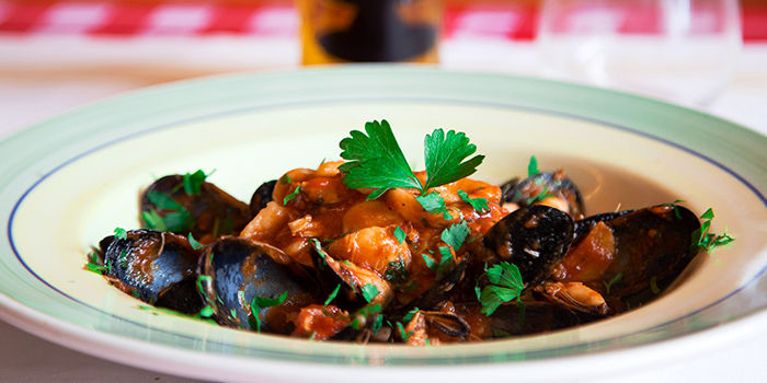 Mussels from Caruso Ristorante on Bukit Timah Road, Singapore