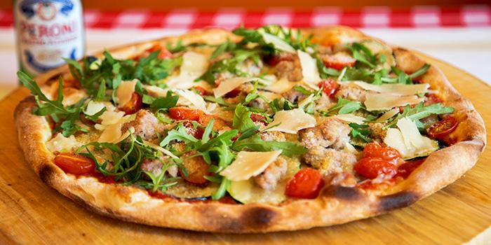 Pizza from Caruso Ristorante on Bukit Timah Road, Singapore