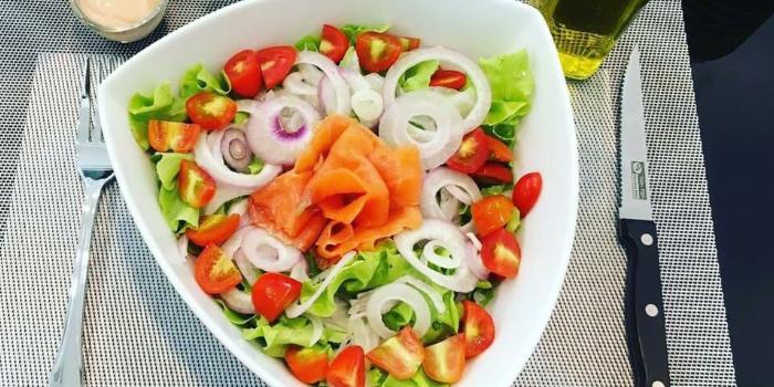 Casanova-Salad from Casanova in Patong, Phuket, Thailand.