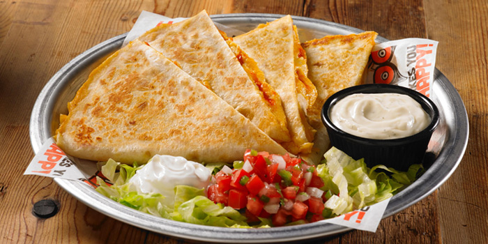 Chicken Quesadilla from Hooters at 4 Sukhumvit Soi.15, Sukhumvit Road, Bangkok