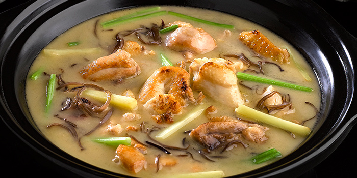 Chicken Stew with Rice Wine and Ginger from Crystal Jade Dining IN in VivoCity in Harbourfront, Singapore