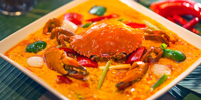Crab, Cafe Siam, Kennedy Town, Hong Kong