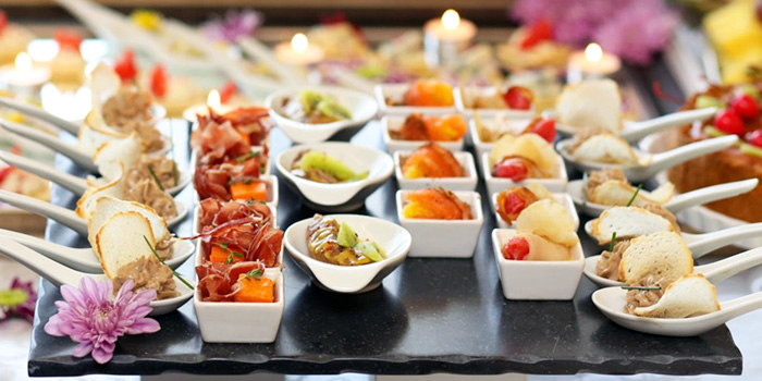 Canapes from D