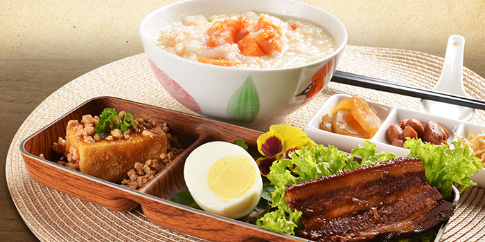 Hokkien Sweet Potato Porridge from Deja Brew at Singapore Chinese Cultural Centre in Tanjong Pagar, Singapore