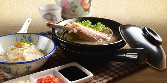 Teochew Bak Kut Teh from Deja Brew at Singapore Chinese Cultural Centre in Tanjong Pagar, Singapore