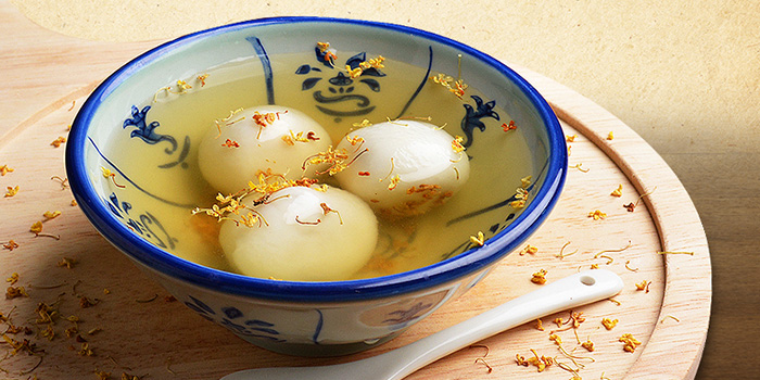 Teochew Glutinous Rice Ball from Deja Brew at Singapore Chinese Cultural Centre in Tanjong Pagar, Singapore