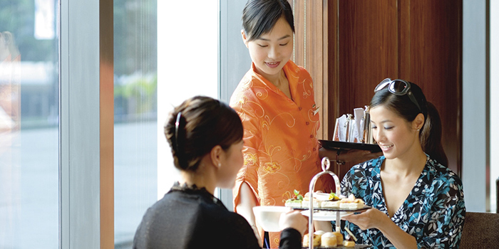 Afternoon Tea, Clipper Lounge, Central, Hong Kong