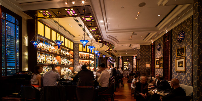 Dining Area, Lobster Bar and Grill, Admiralty, Hong Kong