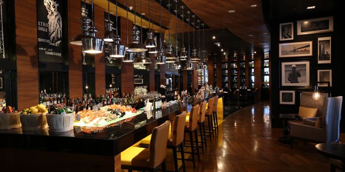The Bar Area of Marriott Hotel, Sukhumvit Soi 57, Wattana, Bangkok