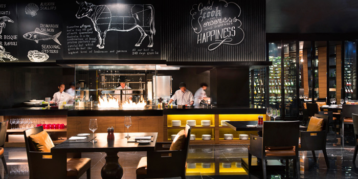 The Open Kitchen of Marriott Hotel, Sukhumvit Soi 57, Wattana, Bangkok