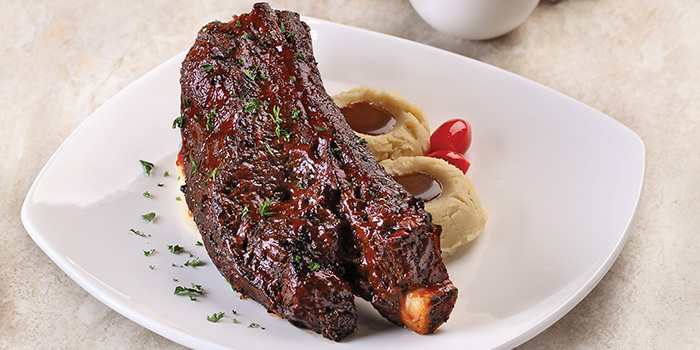 Braised U.S. Beef Ribs from Earle Swensen