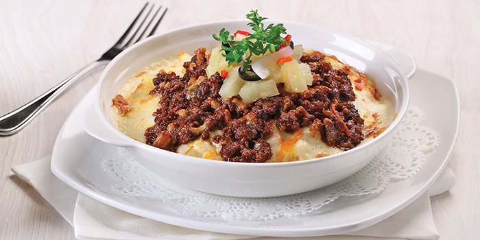 Pineapple Beef Rendang Baked Rice from Earle Swensen