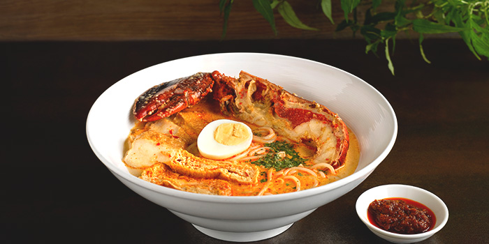 Boston Lobster Laksa from Four Points Eatery at Sheraton Singapore Riverview in Robertson Quay, Singapore