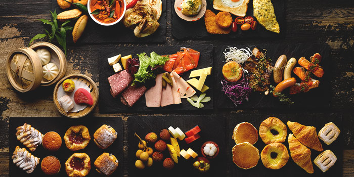 Breakfast Buffet Spread from Four Points Eatery at Sheraton Singapore Riverview in Robertson Quay, Singapore