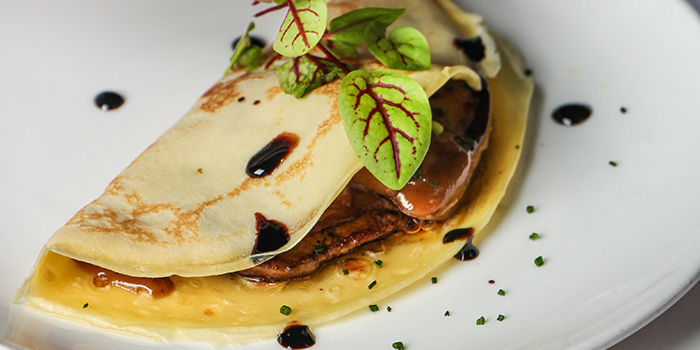 Foie Gras Crepes, Le Petit Chef, Central, Hong Kong