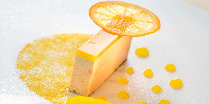 Foie Gras Terrine Navel Orange Textures and 3 Spices Powder, Restaurant Petrus, Admiralty, Hong Kong