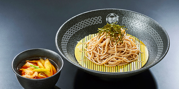 Cold Soba from Nadai Fujisoba Ni-hachi at 100AM in Tanjong Pagar, Singapore