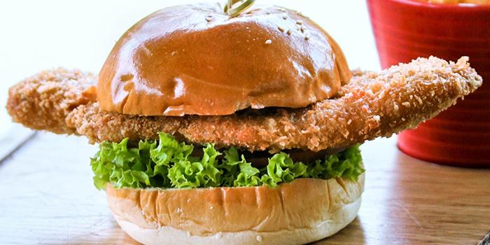 Fish Burger from GRUB in Ang Mo Kio, Singapore