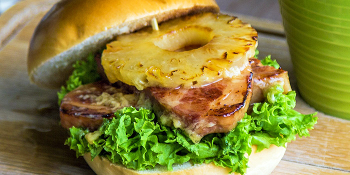 Maple Bacon Burger from GRUB in Ang Mo Kio, Singapore