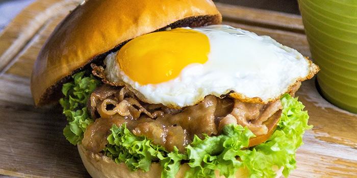 Pork Yakiniku Burger from GRUB in Ang Mo Kio, Singapore