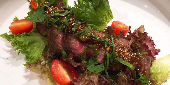 Grilled Beef from Infustion Eatery & Bar at Yen Akat Road, Yanawa, Bangkok