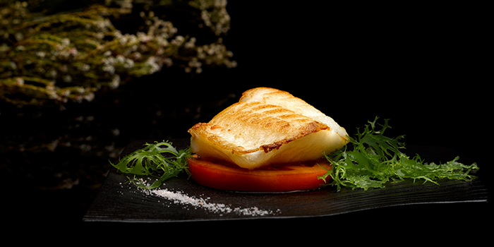 Grilled Cod Fish with Lemon Lime Salt from Crystal Jade Dining IN in VivoCity in Harbourfront, Singapore