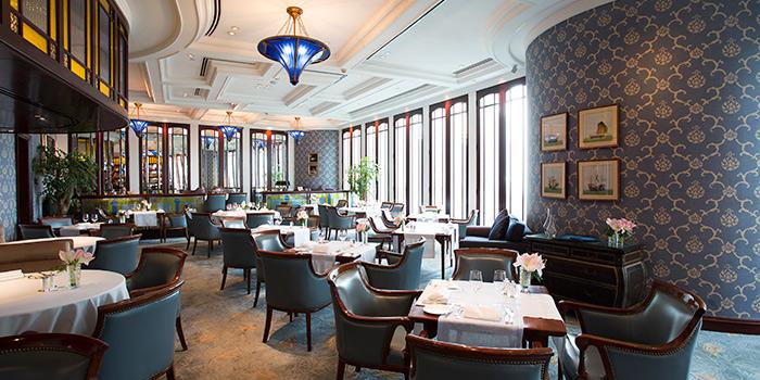 Interior, Lobster Bar and Grill, Admiralty, Hong Kong