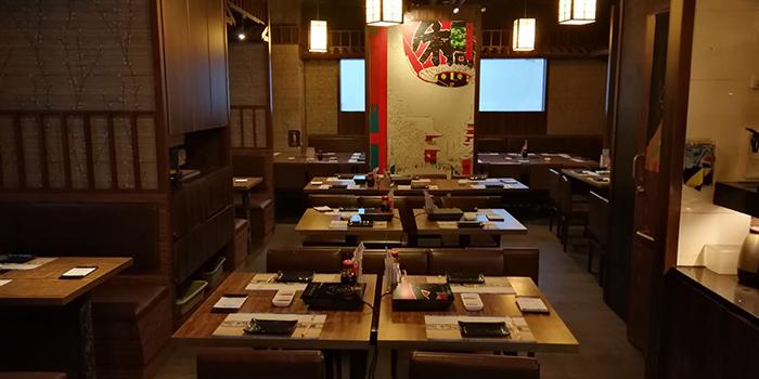 Interior, Matsumoto Japanese Cuisine, Mong Kok, Hong Kong