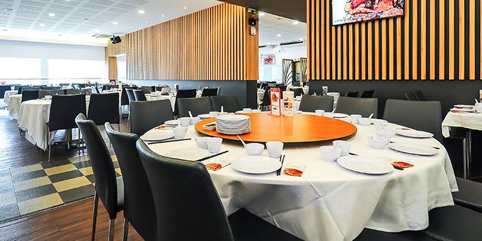 Interior of JUMBO Seafood (East Coast Seafood Centre) in East Coast, Singapore