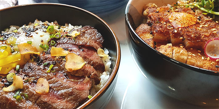 Kabuke Beef Bowls from Kabuke in Telok Ayer, Singapore