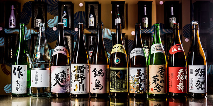 Sake from Kabuke in Telok Ayer, Singapore