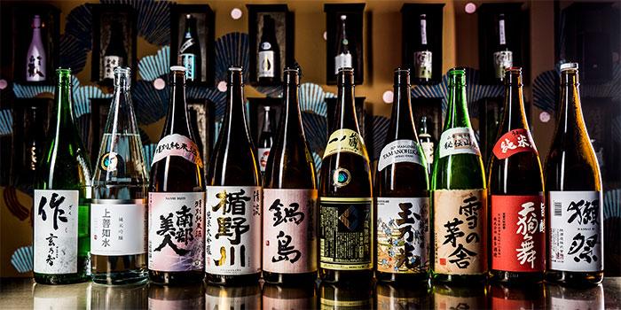 Sake from Kabuke in Telok Ayer, Singapore